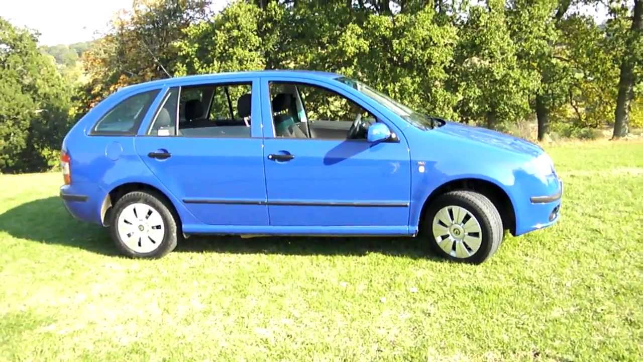 2005 skoda fabia ambiente tdi diesel estate youtube. Black Bedroom Furniture Sets. Home Design Ideas