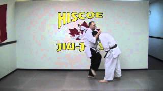 Self Defense Technique - Front Head Manipulation Takedown - Hiscoe Jiu-Jitsu