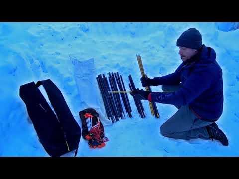 Winter Camping: Setting Up The SnowTrekker Basecamp