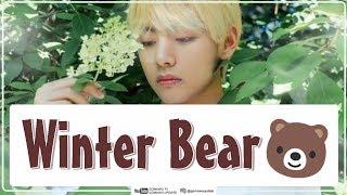V 'BTS' - WINTER BEAR (Easy Lyrics + Indo Sub) by GOMAWO