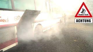 Aus 2 mach 1 + Bus brennt fast ab! | Dumm Tüch