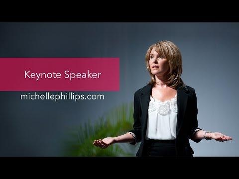 Michelle Phillips: Motivational Speaker, Life Coach, Best Selling Self-Esteem Author
