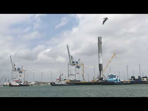 SpaceX Falcon Port Arrival #TESS #Falcon9