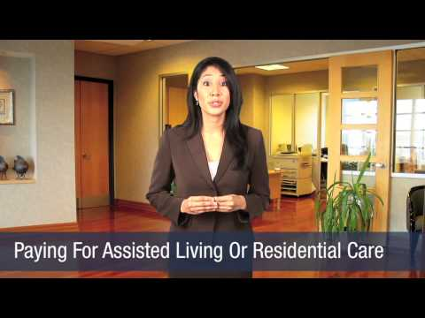 Paying For Assisted Living Or Residential Care