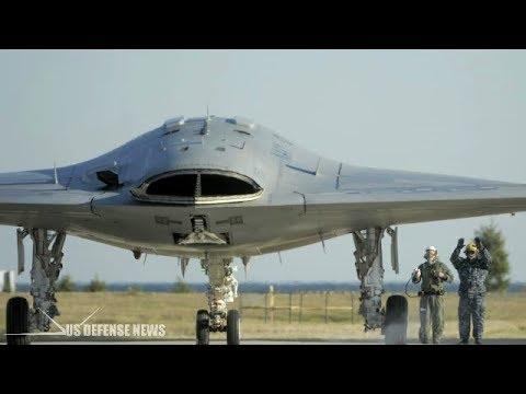 Worst Nightmare for America's Enemies! U.S. Navy X-47B Drone
