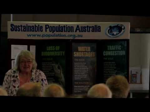 Sustainable Population Australia WA Branch Event Intro