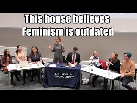 This House Believes Feminism is Outdated