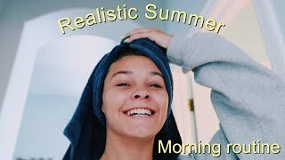 My realistic Summer morning routine | Emma Marie