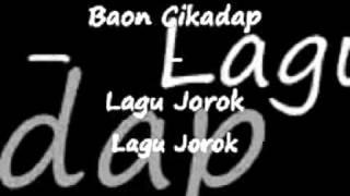 Gambar cover Lagu Jorok - agus Baon Cikadap.3gp