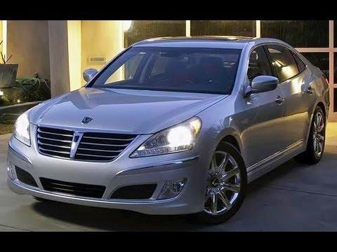 2012 Hyundai Equus Start Up and Review 5.0 L V8