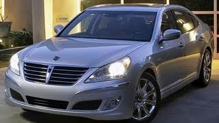 2012 Hyundai Equus Start Up and Review 5.0 L V8 смотреть