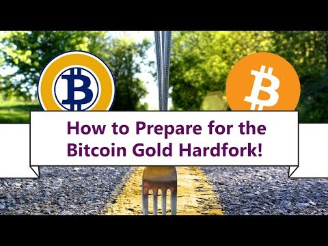 🥇 HOW TO PREPARE FOR THE BITCOIN GOLD HARD-FORK! 🍴