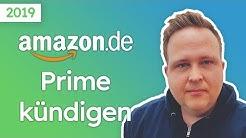 Amazon Prime kündigen