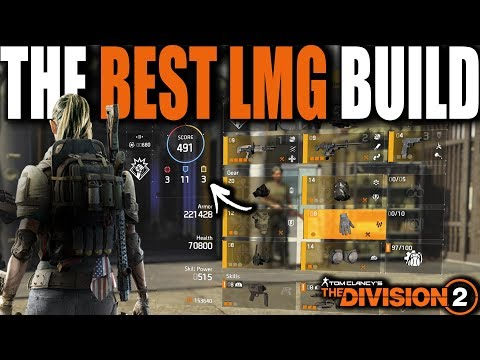 THE BEST LMG BUILD IN THE DIVISION 2 | THE RAMBO BUILD 2 0 & HOW TO