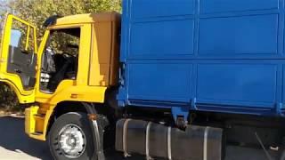 Упрощённая система подъёма кузова КамАЗа сельхозника
