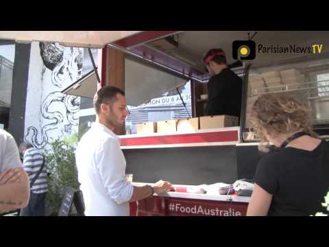 Australian Food Truck hits the streets of Paris