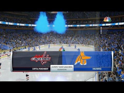 NHL 17 EASHL Kazakhstan Kawks vs Capital Punishment