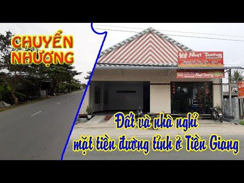 Bán nhà nghỉ và đất cùng đồ nội thất ở tỉnh Tiền Giang