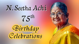 N.Seetha Achi 75th Birthday Celebrations