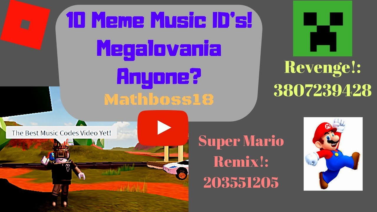 Revenge Creeper Aw Man Full Song Roblox Id Roblox Music Codes In 2020 Songs Roblox Revenge 10 Meme Music Id S For Roblox Megalovania Revenge Mario Remix And More Roblox Music Codes 7 Youtube