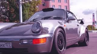 PORSCHE 964 Turbo «Белая Бестия» – @AERIAL.ONE и @IAMSTAROSTIN – красивый тизер новой серии по 911!)
