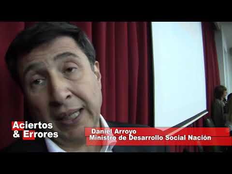 DANIEL ARROYO nuevo Sec de Desarrollo Social