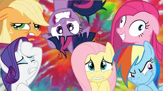 The Mane Six's Personality Disorders?