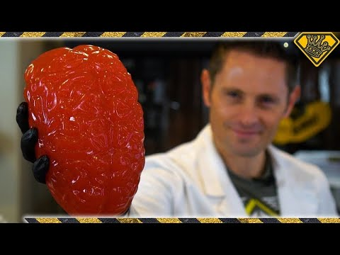 Making A Silicone Brain Mold