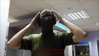 Обзор наушников стрелковых пассивных, шумоподавляющих Peltor, армии Британии