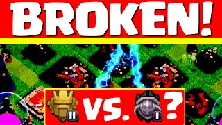 Clash of Clans ♦ BROKEN! ♦ Is This SUPPOSED to be Happening in Clash? ♦ CoC ♦