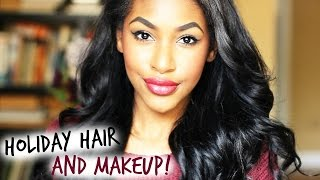 Holiday Hair & Makeup! Thumbnail