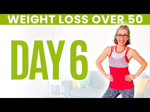 Day FOURTEEN - Weight Loss for Women over 50 😅 31 Day Workout Challenge from YouTube · Duration:  22 minutes 15 seconds