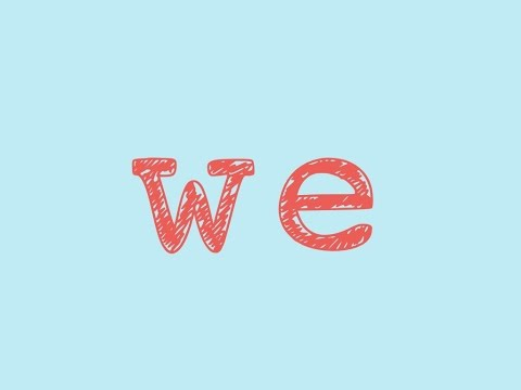 We- Sight Word Song for the word
