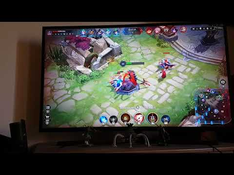 Arena of Valor Nintendo Switch Gameplay on TV