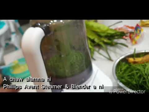 Phillips Avent Steamer & Blender for Babies..