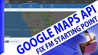 Google Maps API-Fixing FMSP Maps-FileMaker API Training-FileMaker Maps Video Training