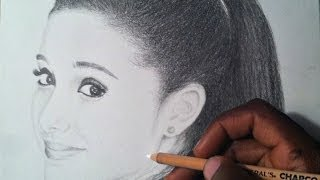 HOW TO DRAW: Ariana Grande