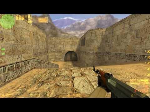 Убираем анимацию с оружия в Counter Strike 1.6