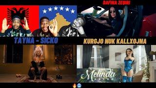 🇦🇱Albanian Music 10 Dafina Zeqiri - Kurgjo Nuk Kallxojna, Tayna - Sicko & Melinda - Karma Reaction
