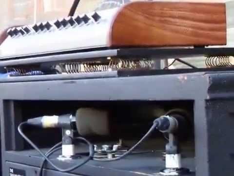 Deep purple Hammond sound check with Don Airey