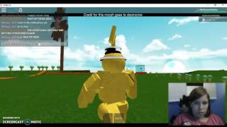 ROBLOX TELETUBBY GAMEPLAY