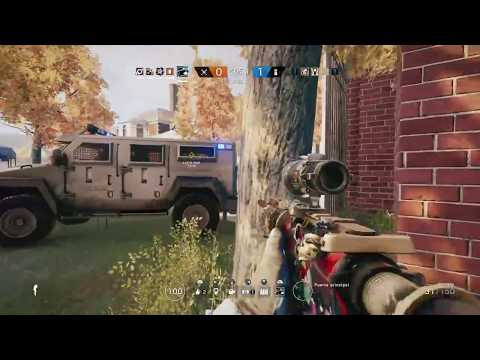 Miky Santoro en RAINBOW SIX SIEGE. (PS4, live stream 60fps)