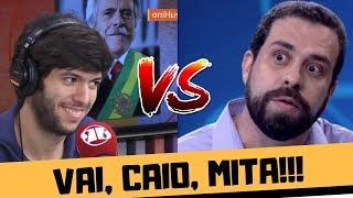 CAIO COPPOLLA MITANDO CONTRA GUILHERME BOULOS NO MORNING SHOW