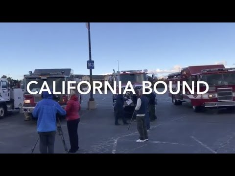 California Bound - Utah Fire Agencies Deploy to California for Wildfire Response