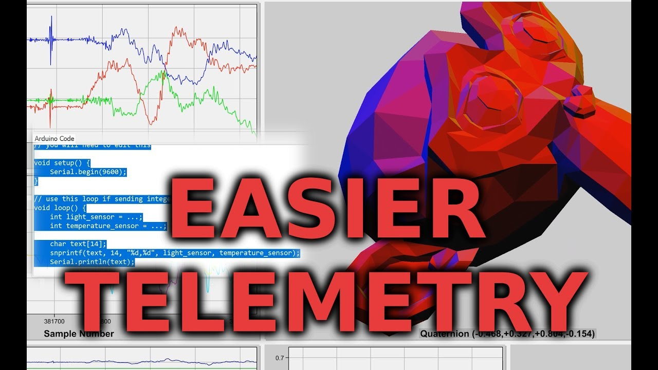 Easier Arduino Telemetry and Data Logging