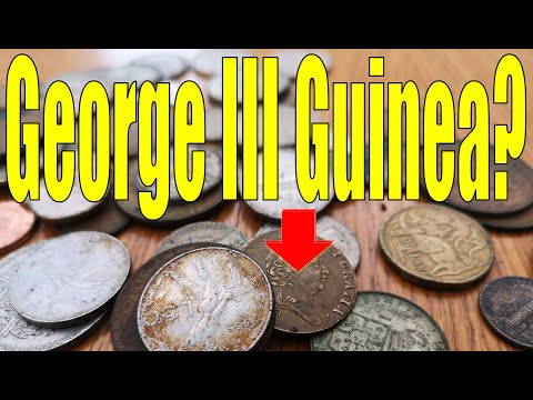Did I just find a George III Guinea?