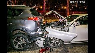 5 Car Pileup on Henry Hudson Highway
