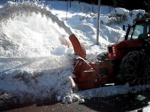 trattore same iron 150 con fresa neve assaloni team f