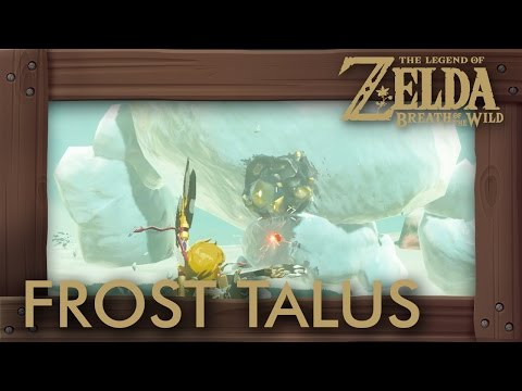 Zelda Breath of the Wild - All Frost Talus Locations