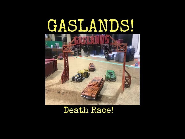 Gaslands! Death Race!